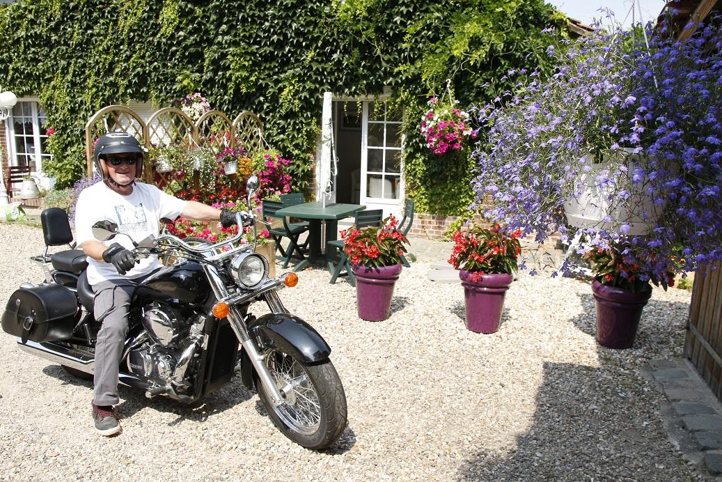 Accueil moto